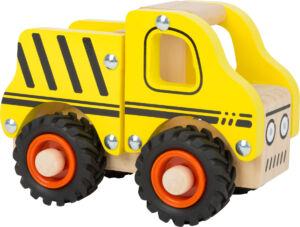 Fa játék teherautó - Small Foot - vesszoparipa.hu
