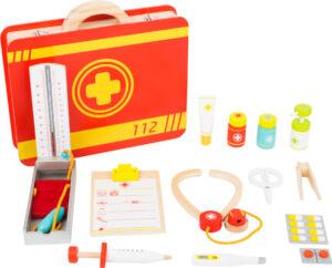 Játék mentőorvosi táska - szerepjátékhoz - Small Foot