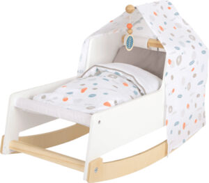Játék babaágy és bölcső szerepjátékhoz - GOKI