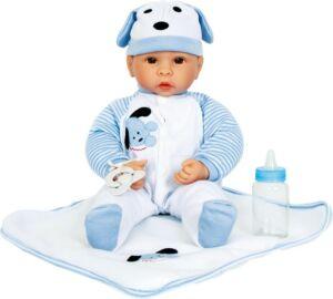 Élethű játékbaba - babázáshoz fiúbaba - Small Foot márka