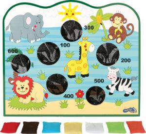 Célbadobó ügyességi játék - afrikai állatos - Small Foot termék
