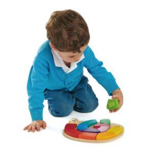 Tender Leaf Toys - szivárvány formakereső játék 2 éveseknek