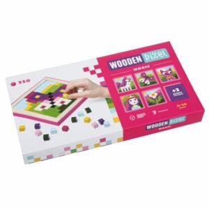 Fa mozaik kirakó, Magic Pixel - tündérmese - Cubika