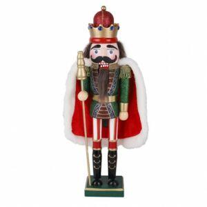 Diótörő figura - fából készült nagy méretű adventi dísz - vesszoparipa.hu